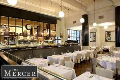 The Mercer - Seven Course Great British Tasting Menu for Two - Save 60%