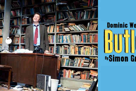 Dominic West in Butley - Top Priced Ticket at the Duchess Theatre - Save 56%