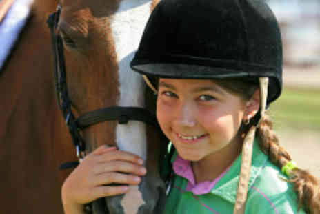 Gellings Riding School - Kids Pony Fun Day with One Hour Riding Lesson - Save 56%