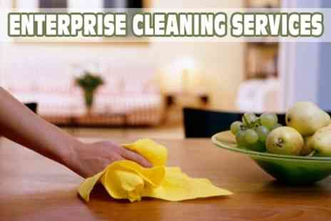 Enterprise Cleaning Services Cardiff - Carpet Cleaning In Two Rooms - Save 73%