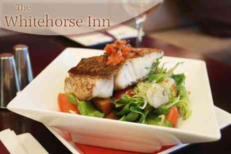 The Whitehorse Inn - European Food For Two - Save 60%