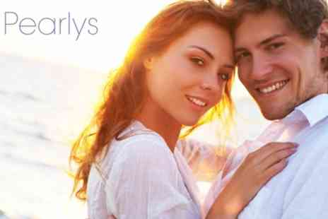 Pearlys - Laser Teeth Whitening and a Whitening Pen to Take Home - Save 73%