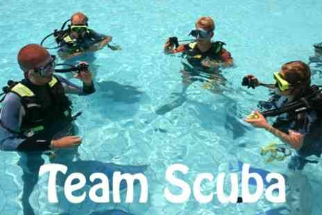 Team Scuba - PADI Open Water Referral Course - Save 66%