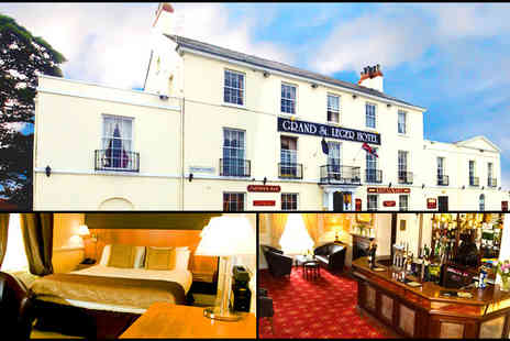 The Grand St Leger Hotel - Two night stay, bed, breakfast and a bottle of wine when dining - Save 71%