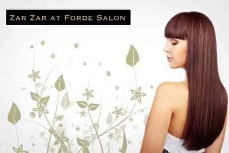 Zar Zar at Forde Salon - Cut, Blow Dry and Brazilian Keratin Conditioning Treatment - Save 65%