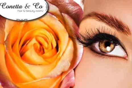 Conetta & Co Beauty Rooms - Full Set of Semi Permanent Eyelash Extensions - Save 64%