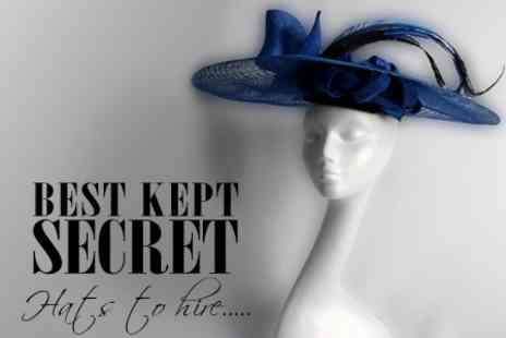 Best Kept Secret - Hat Hire for a Special Occasion - Save 60%