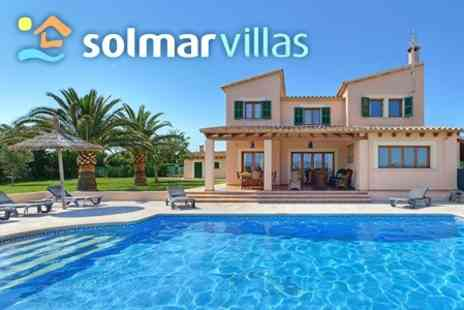 Solmar Villas - Seven Night Holiday in Private Villa with Pool For Up To 8 People in Spain, Portugal or The Canary Islands - Save 66%