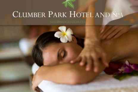 Clumber Park Hotel & Spa - Spa Day With Choice of Elemis Treatments For One - Save 64%