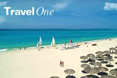 Travel One - Cuba Holiday For 6 or 12 Nights in Havana and Varadero, or Varadero Only - Save 61%