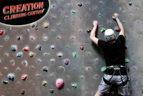 Creation Climbing - Outdoor Rock Climbing and Abseiling - Save 60%
