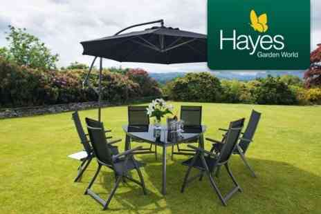 Hayes Garden World - Choice of Garden Furniture Sets Palermo Four Seat - Save 50%
