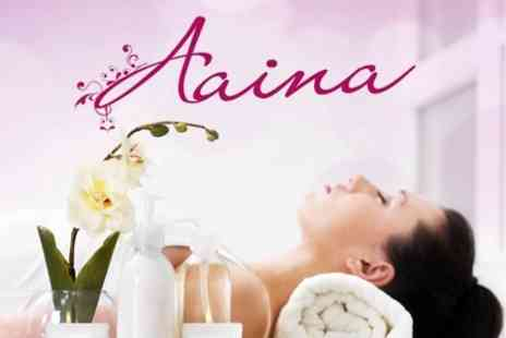 Aaina Beauty - Any Two From Six Beauty Treatments for One Person - Save 58%