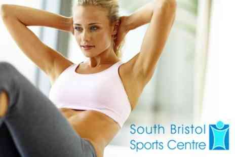 South Bristol Sports Centre - Eight Week Gym Membership and Five Fitness Classes  - Save 68%