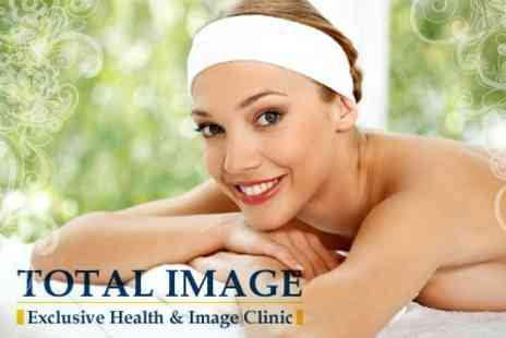 Total Image - Face, Neck and Decollete Massage with Radiance Facial - Save 66%