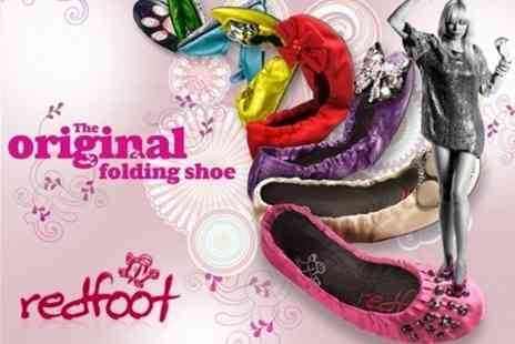 Redfoot Shoes - Choice of Premium Folding Shoes - Save 58%