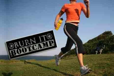 Burn It Boot Camp - SixWeeks of Outdoor Fitness - Save 61%