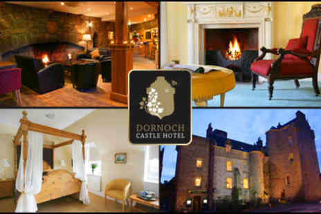 Dornoch Castle Hotel - Two-night fairytale escape for two to Dornoch Castle Hotel in Scotland, including breakfast and a bottle of wine - Save 67%