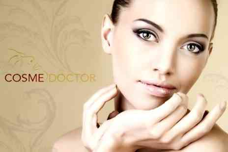 Cosmedoctor - Three Microdermabrasion Sessions with Cleanse, Moisturisation and Skin Analysis - Save 68%