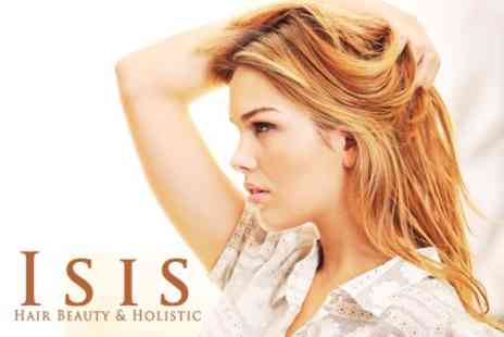 Isis Hair Beauty & Holistic - Full Head of Foils or Tint Plus Conditioning Treatment, Wash, and Cut - Save 71%