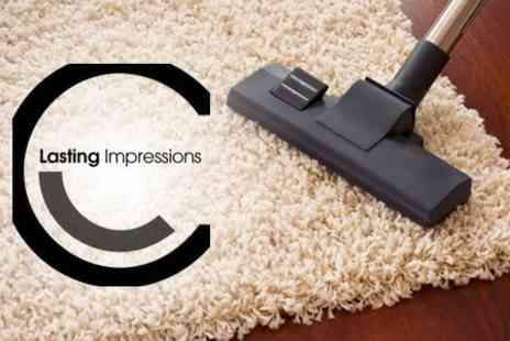 Lasting Impressions Cleaning - Carpet Cleaning in Three Rooms - Save 67%