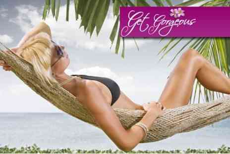 Get Gorgeous - Full Body Scrub and Spray Tan - Save 60%