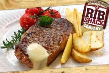 The Original Rib Shack UK - Two Course Rib Meal For Two - Save 60%