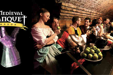 The Medieval Banquet  - Four Course Meal, Unlimited Drinks and Live Entertainment - Save 40%