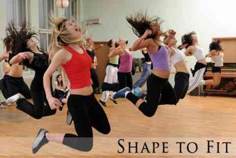 Shape 2 Fit - Six Zumba, Body Toning, Core Work or Ballet Lessons - Save 60%