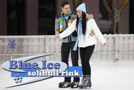 Solihull Ice Rink - Ice Skating For Two Including Skate Hire for £5 at Blue Ice Solihull - Save 71%