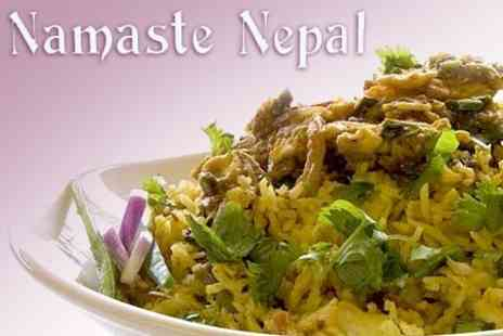 Namaste Nepal - Nepalese Cuisine and Drink for Two - Save 65%