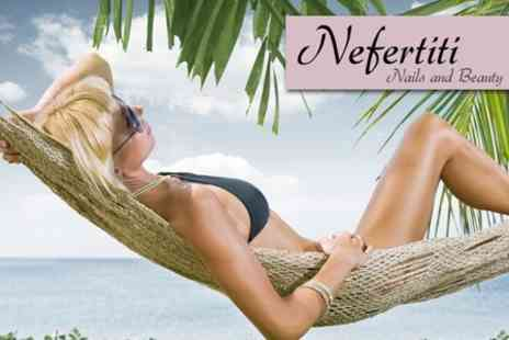 Nefertiti Nails and Beauty - Express Manicure, Pedicure and Massage - Save 60%
