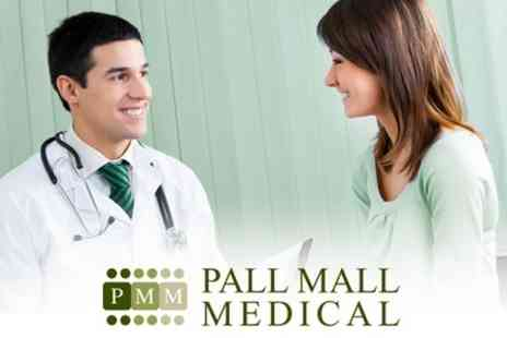 Pall Mall Medical - Full Body Health Screening Including GP Consultation and Blood Profile - Save 61%