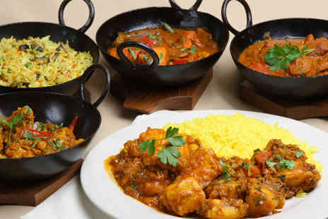 Spice Room - Delicious Indian banquet including four starters and four mains between two people - Save 65%