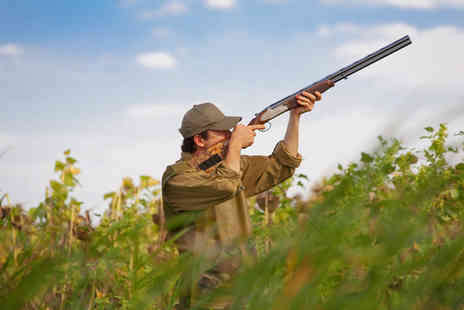 Central Scotland Shooting School - Clay pigeon shooting experience  - Save 62%