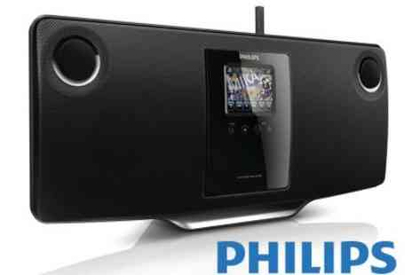 Philips - Wireless Micro Hi-Fi System - Save 58%