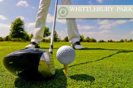 Whittlebury Park Golf and Country Club - 18 Holes of Golf For up to Four People Including Buggy Hire - Save 67%