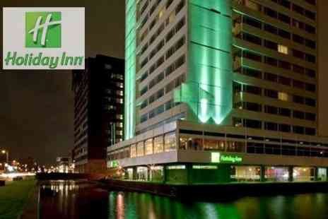 Holiday Inn Amsterdam - Two Night Stay in Amsterdam Plus Canal Cruise Tickets For Two - Save 50%