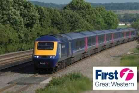 First Great Western - Standard Class Off Peak Return Train Ticket from London Paddington to Choice of 6 Locations - Save 60%