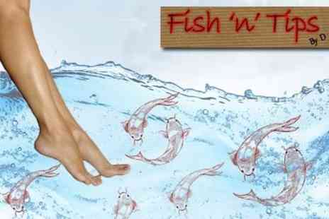 Fish n Tips - Garra Rufa Fish Spa and Buff - Save 70%