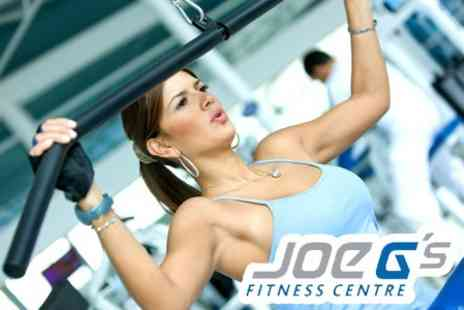 Joe Gs Fitness Centre - Annual Membership With Full Gym Use And Access to Classes - Save 88%