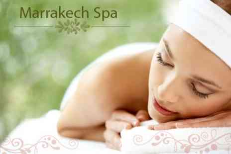 Marrakech Spa - Spa Experience For Two With Facial, Massage, Refreshments and Full Use of Facilities - Save 63%