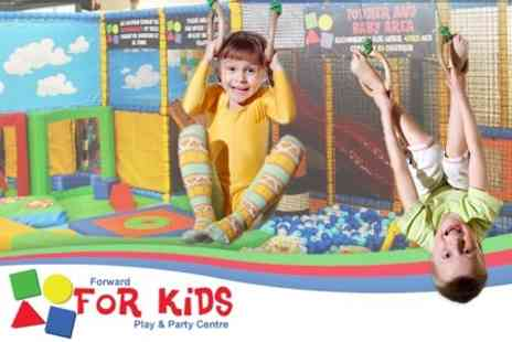 Forward For Kids Play Centre - Four Passes & Two Meals For Two Children - Save 61%
