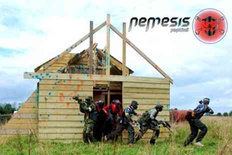 Nemesis Paintball - Paintballing Session for £3.50 - Save 76%