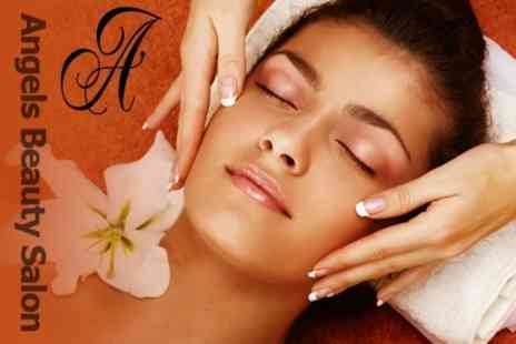Angels Beauty Salon - Spa Pamper Package For One With Four Treatments - Save 61%