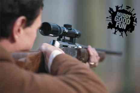 Muddy Good Fun - Two Hour Rifle and Archery Shooting Experience - Save 60%