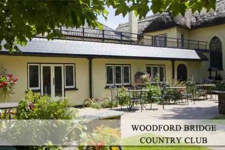 Woodford Bridge Country Club - Two Night Stay in Devon For Two With a Bottle of Champagne & Chocolates on Arrival - Save 60%