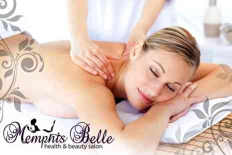 Memphis Belle - Full Body Massage or Half Body Massage With Express Manicure or Pedicure - Save 60%
