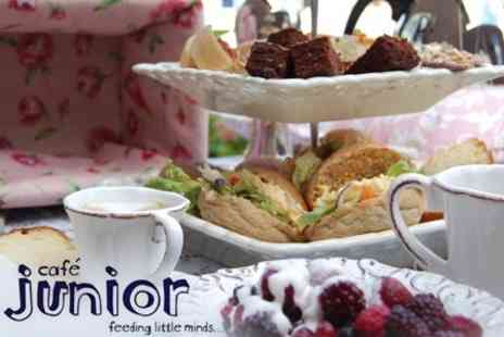 Cafe Junior - Afternoon Tea For Two With Full Use of Children's Play Area - Save 66%