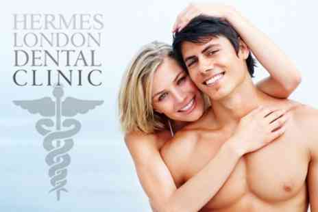 Hermes London Dental Clinic - Hygiene Clean With Stain Removal, Polish and X Rays - Save 75%